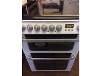 HOTPOINT ULTIMA ELECTRIC COOKER DOUBLE OVEN WITH GRILL 60cm FREE DELIVERY AND WARRANTY