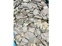 10 bags of slates free to uplift