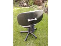 office chair grey swivel
