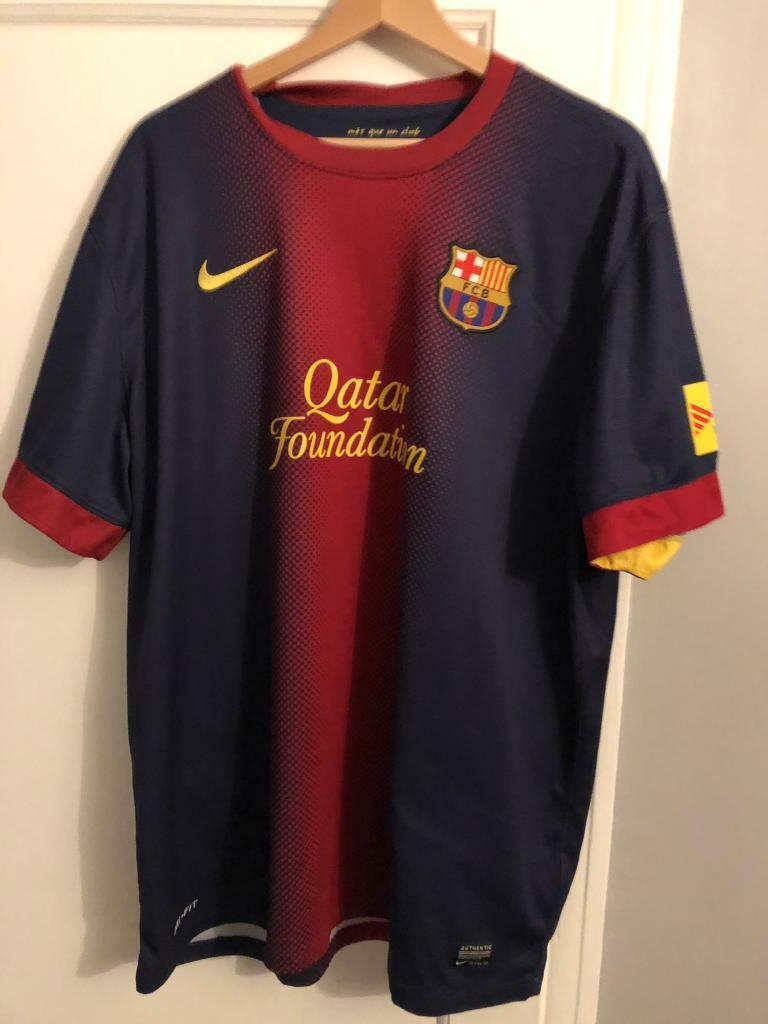 37581e5ae6cb40 Barcelona home shirt