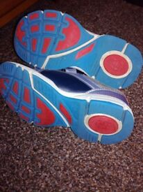 Clarks jets trainers size 10.5f
