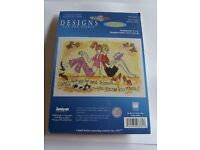 "Counted Cross Stitch ""Best Friends"" Kit (price includes UK postage)"