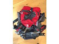 Karimor cougar 55 + 15L backpackers bag