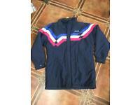 Adidas football factory retro vintage coat jacket hooded
