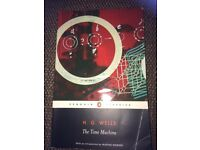 H G WELLS - THE TIME MACHINE PAPERBACK BOOK