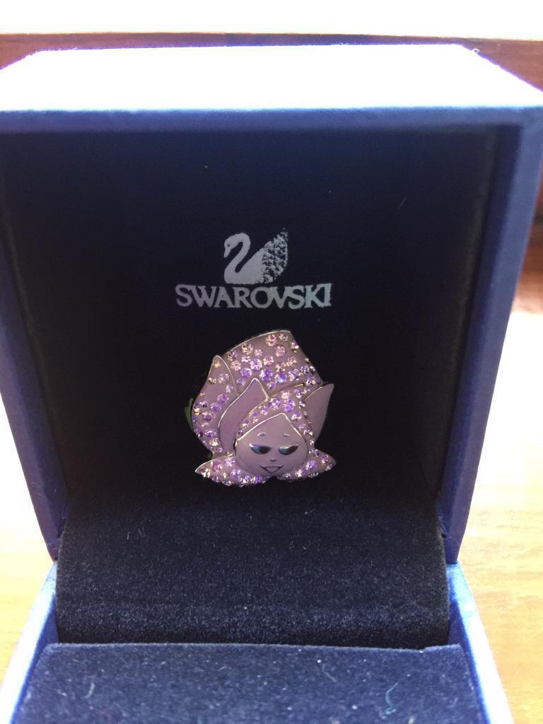 Genuine Swarovski ring new