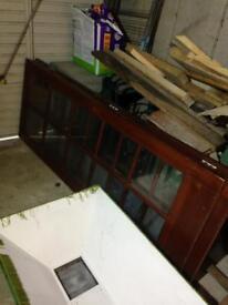 3x glass panel internal doors
