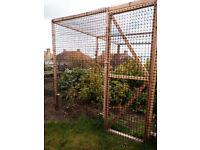 Fencing Mesh Cage Netting heavy duty Plastic