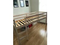 2 x Kids Mid Sleeper Beds