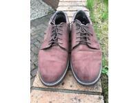 Reebok spikeless golf shoes, size 10