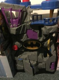 Super hero playsets * including x2 batcaves* bargain buy