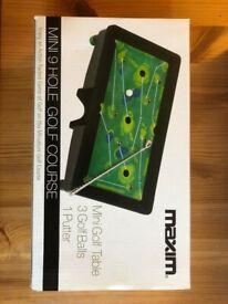 Mini Golf Course Table