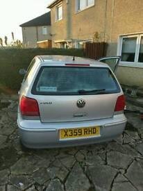 1.4 Volkswagen polo, great condition