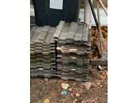 Roof tiles slates used approx 70