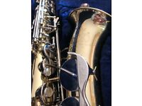 Complete Alto Saxophone Pack Ideal for Beginners! Includes Sax stand, music stand, music books .....