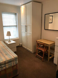 SHORT OR LONG TERM LARGE SINGLE ROOM IN CLEAN AND QUIET HOUSE, 3 MIN WALK TOTTENHAM HALE TUBE