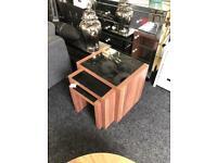 Nest of tables £30 from Dukes furnishings Dennistoun