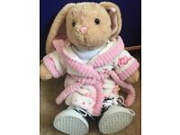 Build a bear bunny soft toy POSTAGE IS FREE