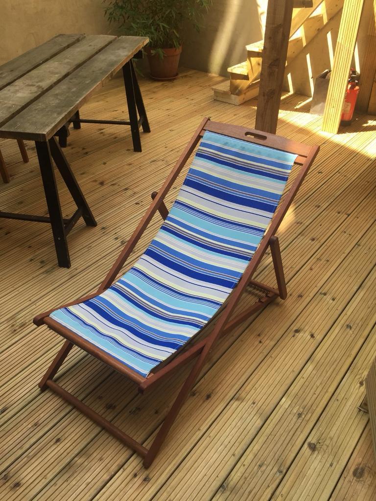 Barely used sunchair camden