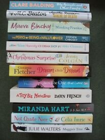 Lot of 12 Books including Giovanna Fletcher, Miranda Hart, Dawn French and Julie Walters novel