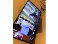 SAMSUNG 46 INCH FULL HD LED TV SUPER SLIM FREE VIEW HD 4 X HDMI 3 X USB STAND REMOTE