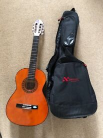 Guitar Valencia 1/2 size kids classical + guitar protective cover Extreme bags Australia