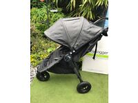 Baby Jogger City Mini GT in Charcoal Denim - Can Post