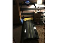 Treadmill motorised