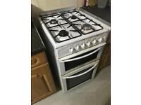 Belling Gas cooker 50cm in white
