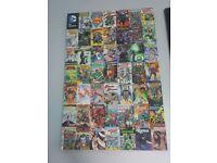 (REDUCED) LARGE DC COMICS CANVAS PICTURE