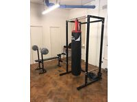 Weight Lifting Cage & Pull Up Bar