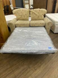 Small tapestry sofa bed