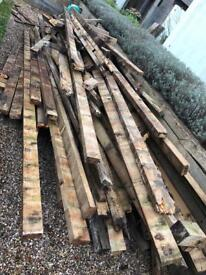 Scrap wood for burning