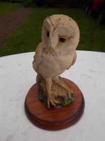 Collectable Border Fine Arts barn owl