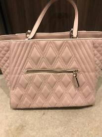 Pale pink Guess bag