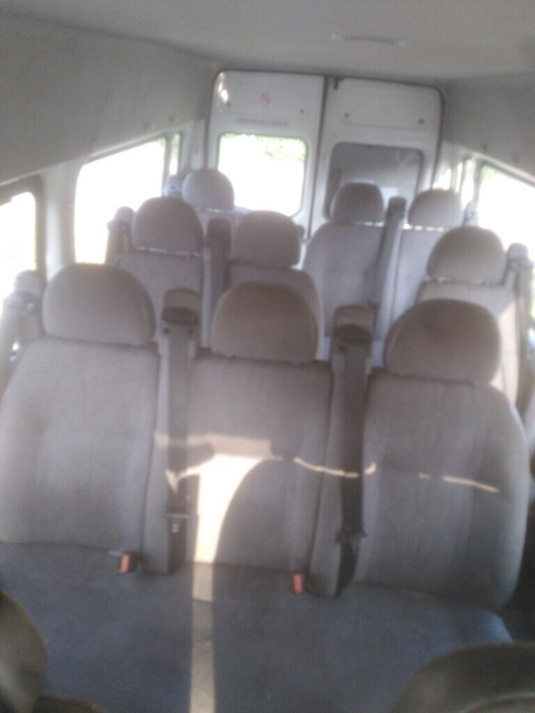Ford transit seats, camper, motor home, seatbelts, bolts, front | in  Leicester, Leicestershire | Gumtree