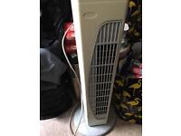 Rotating cold fan good working order bargain 10 pound