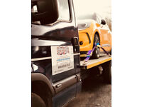 Single Car Transporter Service. Vehicle Transportation.