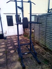 Used work out tower