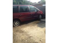 ford galaxy 7 seatter year 2001.