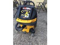 Dewalt M class dust extractor