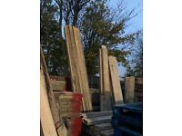 Reclaimed scaffold boards/wood 13ft Hackney - Delivery   scaffolding/timber/upcycle/planks