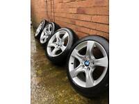 "17"" Alloy Wheels x4 BMW"