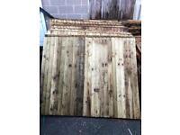 Heavy Duty Pressure Treated Fence Panels