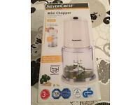 New silver rest mini chopper