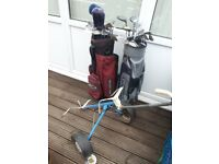 golf clubs and bags for quick sale cwmbran