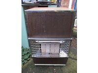 calor gas heater with ignition start and 4 coal settings