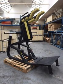 PowerGym Fitness Commercial Super V Squat Machine Olympic Commercial Plate Loaded Leg Press