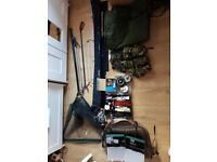 Bundle of Fishing Equipment, Rods, reels, Bags ETC See my pictures