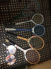 Various rackets